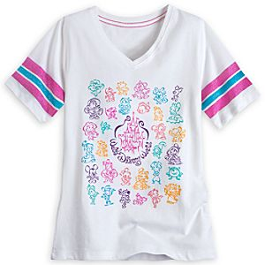 Walt Disney World V-Neck Tee for Girls - Walt Disney World