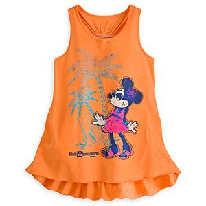 Minnie Mouse Tank for Girls - Walt Disney World