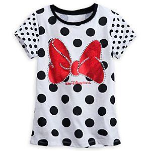 Minnie Mouse Polka Dot Tee for Girls - Walt Disney World