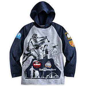 Star Tours Hooded Raglan Tee for Boys - Walt Disney World