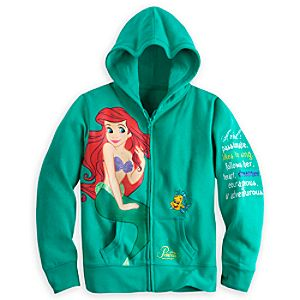 Ariel Hoodie for Girls - Walt Disney World