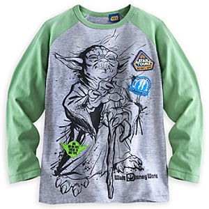 Yoda Raglan Tee for Boys - Star Tours - Walt Disney World