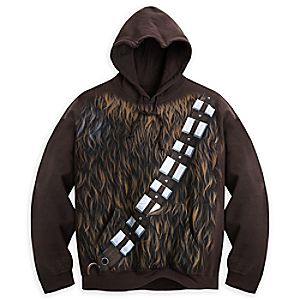 Chewbacca Costume Hoodie for Adults - Star Wars