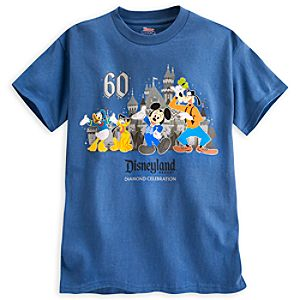 Mickey Mouse and Friends Tee for Boys - Disneyland Diamond Celebration