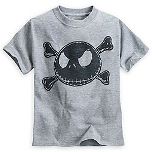 Jack Skellington Heathered Tee for Boys