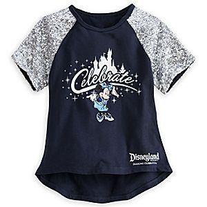Minnie Mouse Premium Tee for Girls - Disneyland Diamond Celebration