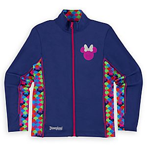 Minnie Mouse Pop Dot Jacket for Girls - Disneyland