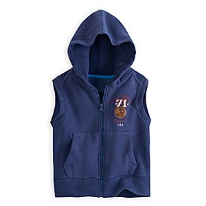 Mickey Mouse 71 Sleeveless Zip Hoodie for Boys - Walt Disney World