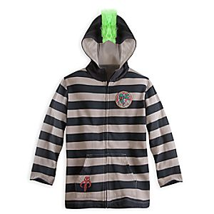 Boba Fett Mohawk Hoodie for Kids - Star Wars