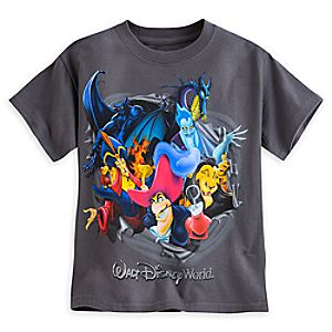 Disney Villains Tee for Boys - Walt Disney World
