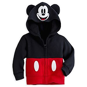 Mickey Mouse Costume Hoodie for Baby
