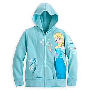 Elsa Hoodie for Girls - Walt Disney World