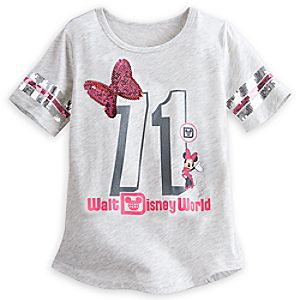 Minnie Mouse Sequin Tee for Girls - Walt Disney World