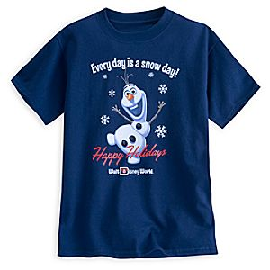 Olaf Holiday Tee for Boys - Walt Disney World