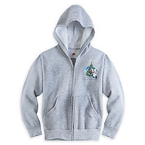 Santa Mickey Mouse and Friends Holiday 2015 Hoodie for Boys - Walt Disney World