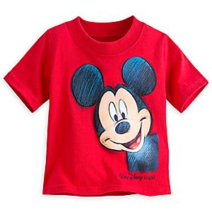 Mickey Mouse Two-Sided Tee for Boys - Walt Disney World