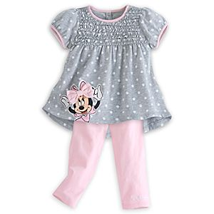 Minnie Mouse Pant Set for Baby
