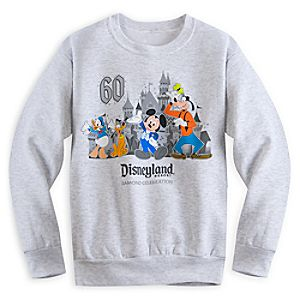 Mickey Mouse and Friends Sweatshirt for Boys - Disneyland Diamond Celebration