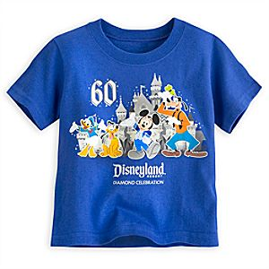 Mickey Mouse and Friends Tee for Toddler Boys - Disneyland Diamond Celebration