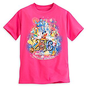 Sorcerer Mickey Mouse Storybook Tee for Girls - Walt Disney World 2016