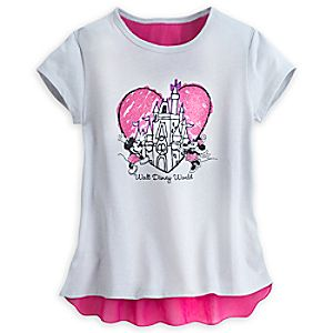 Mickey and Minnie Mouse Walt Disney World Top for Girls