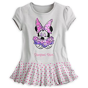 Minnie Mouse Skirted Tee for Girls - Disneyland