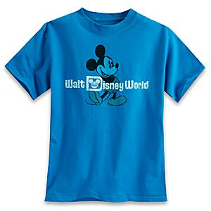 Mickey Mouse Tee for Boys - Walt Disney World - Blue