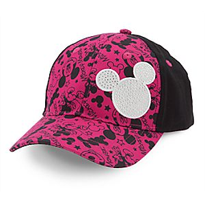 Mickey Mouse Bling Baseball Cap for Kids