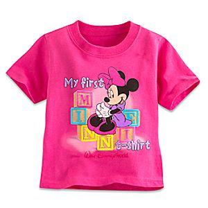 Minnie Mouse My First Minnie T-Shirt Tee for Baby - Walt Disney World