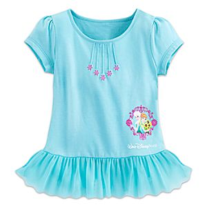Anna and Elsa Fashion Top for Toddlers - Walt Disney World