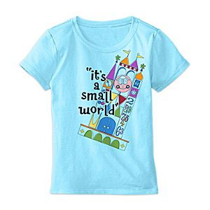 its a small world Anniversary Tee for Girls - Limited Release