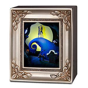 Jack Skellington and Sally Embrace Gallery of Light by Olszewski