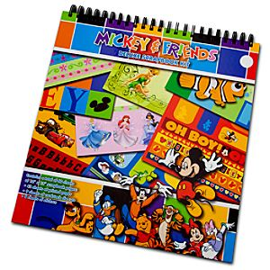 Mickey Mouse and Friends Deluxe Scrapbook Kit