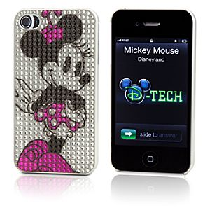 Bling Minnie Mouse iPhone 4 Case
