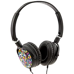 D-Tech Mickey Mouse Folding Travel Headphones