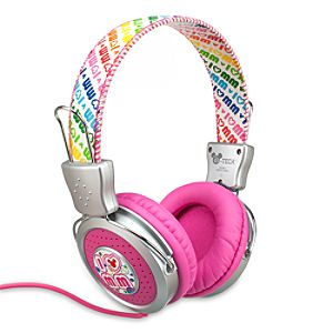 High-Definition I &heart; Mickey Mouse Headphones