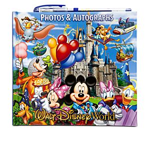 Storybook Walt Disney World Resort Autograph Book and Photo Album with Pen