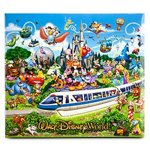 Storybook Walt Disney World Scrapbook Album