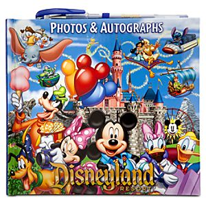Storybook Disneyland Resort Autograph Book and Photo Album with Pen