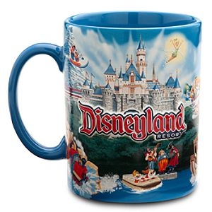 Disney Storybook Attractions Disneyland Mug