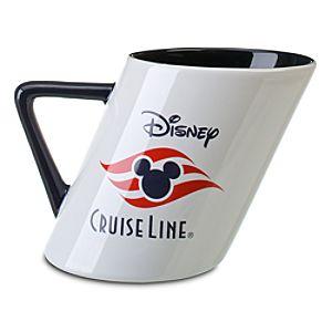 Disney Cruise Line Slant Mug