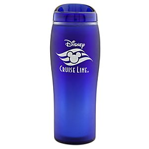 Disney Cruise Line Travel Mug -- Blue