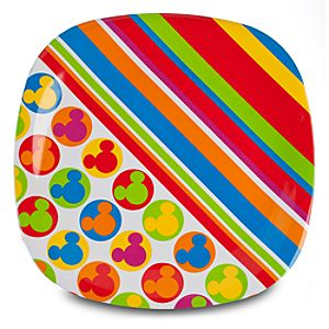 Color Fusion Mickey Mouse Serving Platter