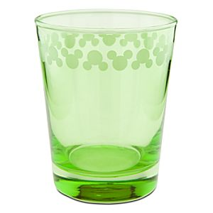 Color Fusion Mickey Mouse Glass -- Green
