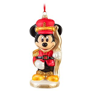 Soldier Mickey Mouse Ornament by Krebs