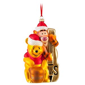 Tigger and Winnie the Pooh Ornament by Krebs