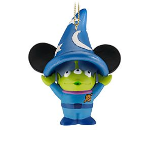 Sorcerer Hat Space Alien Ornament