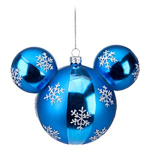 Snowflake Icon Mickey Mouse Ornament
