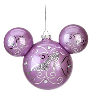 Cinderella Icon Mickey Mouse Ornament