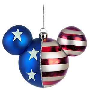 Americana Icon Mickey Mouse Ornament